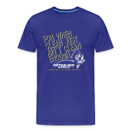 T-Shirts ~ Men's Premium T-Shirt ~ Detailing World 'Just Ain't Clean Enough' T-Shirt