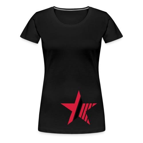 CandyStar - Premium T-skjorte for kvinner
