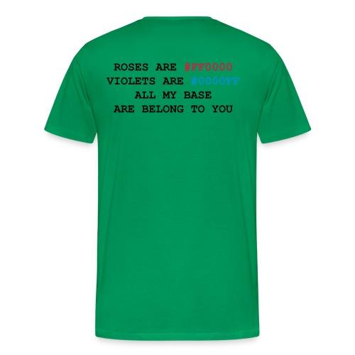 Coders Poem - Men's Premium T-Shirt