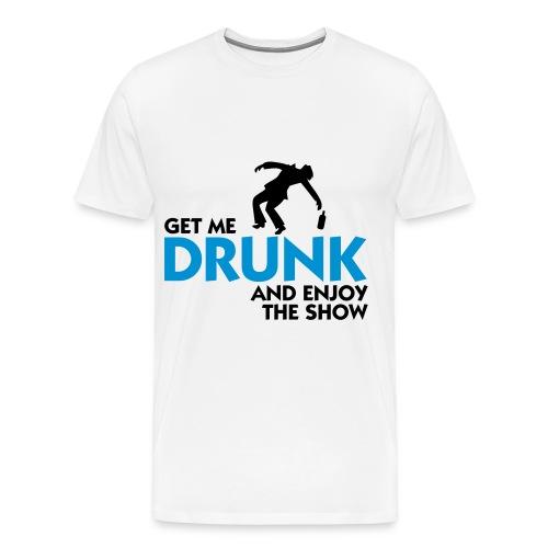Drunk Men's T-Shirt - Men's Premium T-Shirt