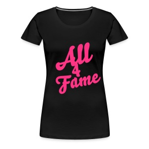 All4Fame Shirt - Frauen Premium T-Shirt
