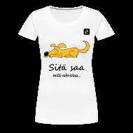 T-paidat ~ Naisten premium t-paita ~ Selässä