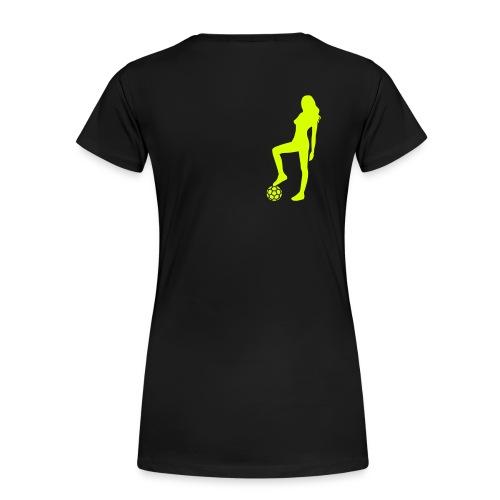 Unsere Frauen am Ball - Frauen Premium T-Shirt