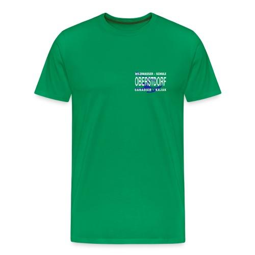Jungs Shirt WWSO grün - Männer Premium T-Shirt
