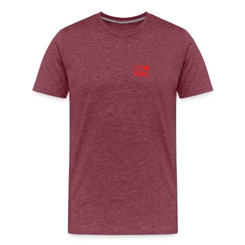 No minimal luv u - T-shirt Premium Homme