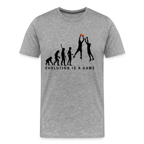T shirt classique gris Game - T-shirt Premium Homme
