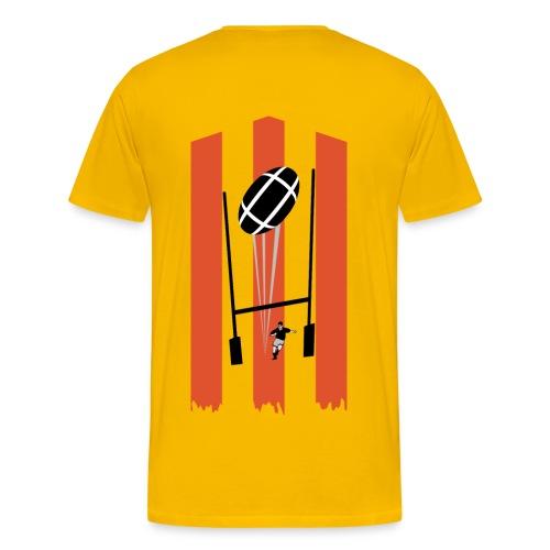t-shirt rugby design - T-shirt Premium Homme
