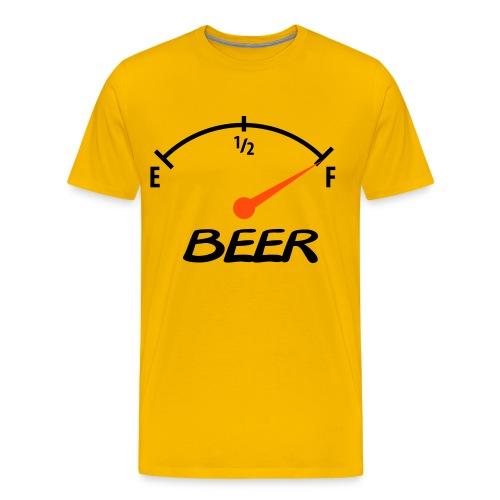 Love drinking - Premium T-skjorte for menn