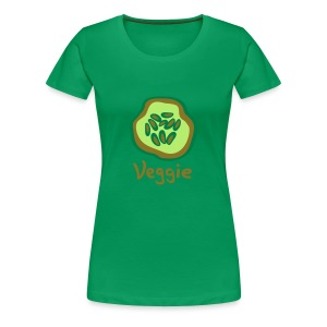 Golden Veggie - Frauen Premium T-Shirt