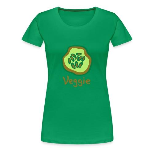 Golden Veggie - Frauen Premium T-Shirt