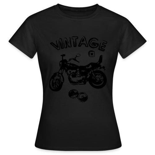 Vintage. - T-shirt Femme