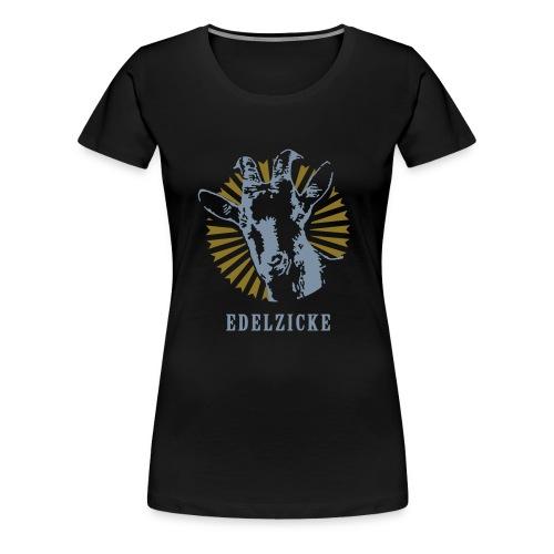 Edelzicke Disco - Frauen Premium T-Shirt