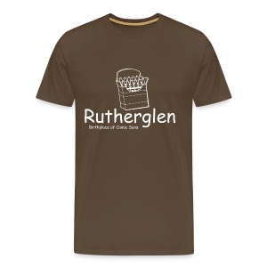Rutherglen Comic Sans - Men's Premium T-Shirt