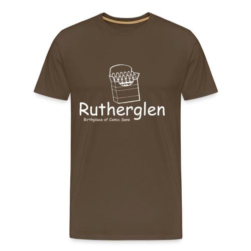 Rutherglen Comic Sans - Men's Premium T-Shirt