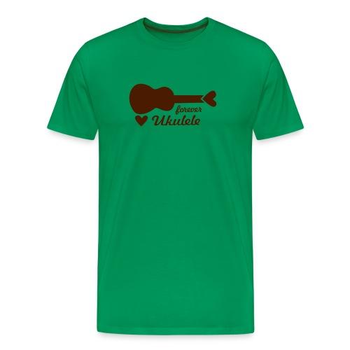 Forever Ukulele - Männer Premium T-Shirt