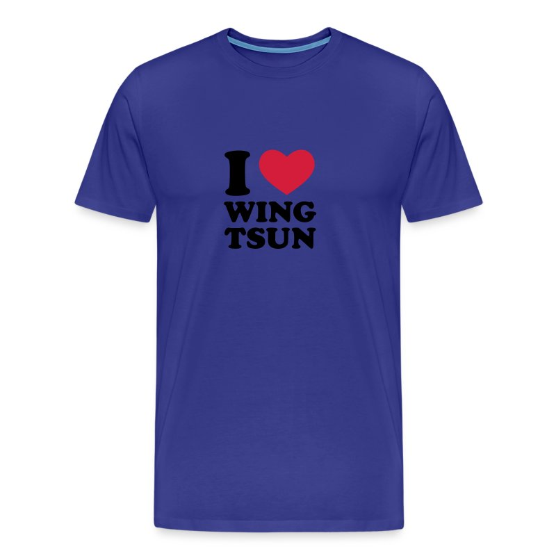I Love Wing Tsun - Men's Premium T-Shirt