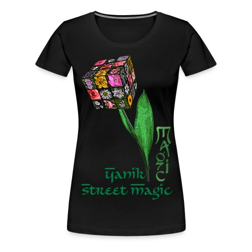 Magic Flower Girlie - Frauen Premium T-Shirt