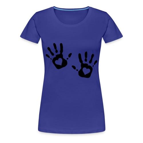 Your Safe In My Hands - Women's Premium T-Shirt