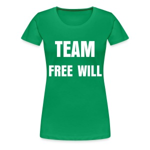 Team Free Will - Women's Premium T-Shirt