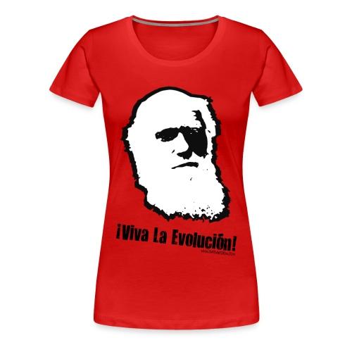 viva la evolucion - Women's Premium T-Shirt
