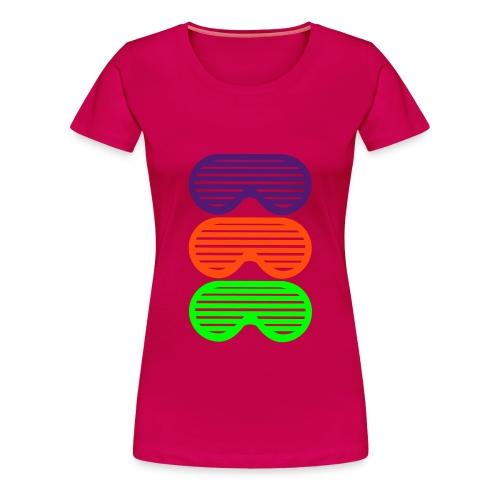 Sun glasses t-shirt - Women's Premium T-Shirt