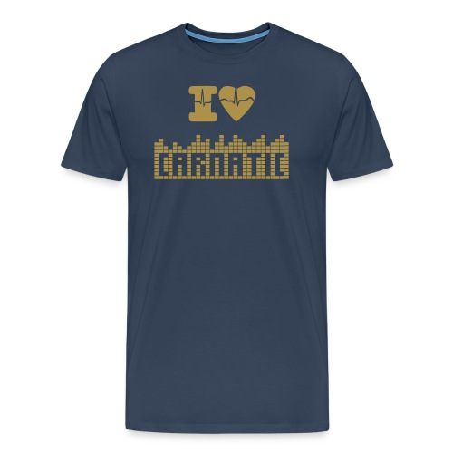 i LOVE carnatic music - T-shirt Premium Homme