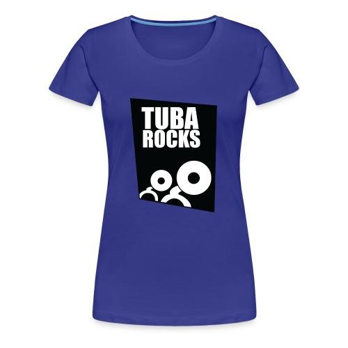 Tuba Rocks - Vrouwen Premium T-shirt