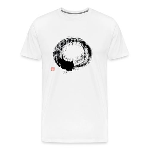 Cursive Circle Continental T shirt - Men's Premium T-Shirt