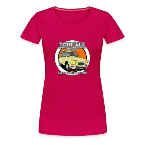 TOUT'ALU AMI8 BEIGE - T-shirt Premium Femme