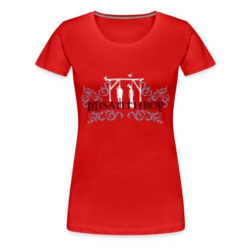 Girlie rot - Frauen Premium T-Shirt