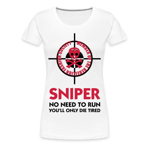 Sniper - Premium T-skjorte for kvinner