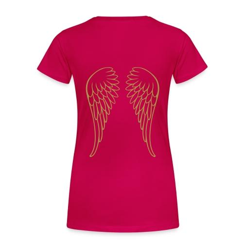 ALAS DE ÀNGEL - Camiseta premium mujer