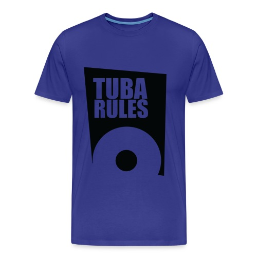 Tuba Rules - Mannen Premium T-shirt