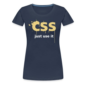 CSS Just Use It ! pour filles - T-shirt Premium Femme