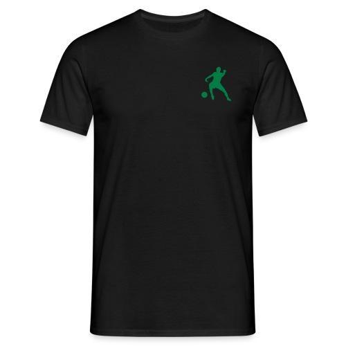 T-shirt - Herre m.trykk framme/bak - T-skjorte for menn