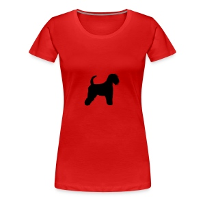 Irish soft coated wheaten Terrier - Frauen Premium T-Shirt