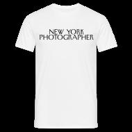 Tee shirts ~ Tee shirt Homme ~ The New York Photographer (façon New yorker magazine)