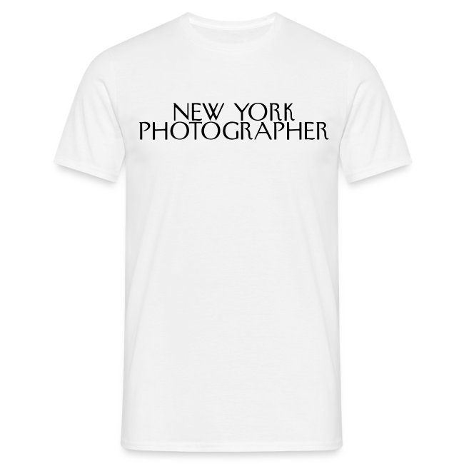 The New York Photographer (façon New yorker magazine)
