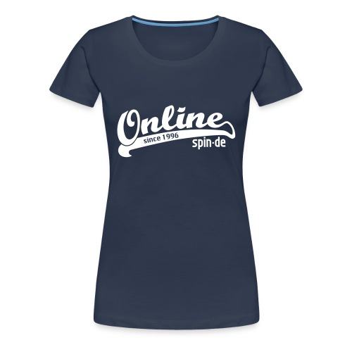 Online since 1996 Shirt Girl - Frauen Premium T-Shirt