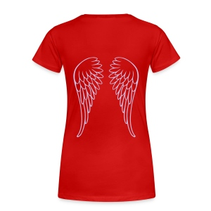 angel girly - Camiseta premium mujer