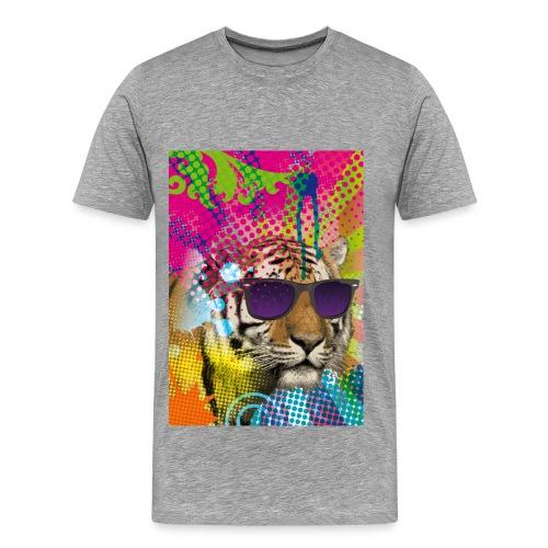 SunglassTiger - Männer Premium T-Shirt