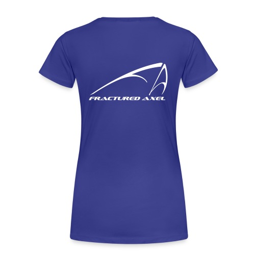 FA Logo - Women's classic T - White print - Women's Premium T-Shirt