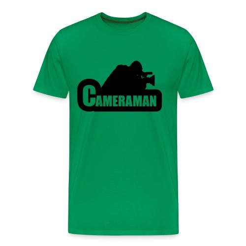 Camera T-shirt - Mannen Premium T-shirt