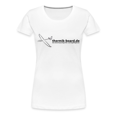 thermik-board.de Girlie-Shirt - Frauen Premium T-Shirt