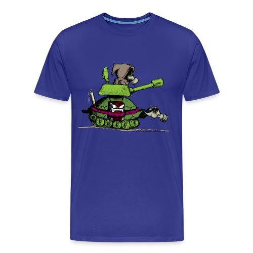 turtle war free custom - T-shirt Premium Homme