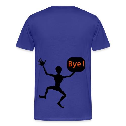 Bye for now - Herre premium T-shirt