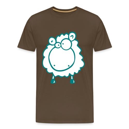 Doofes Schaf - Männer Premium T-Shirt