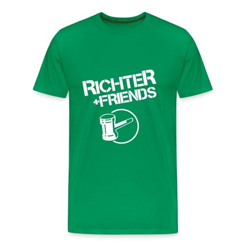 RICHTER+FRIENDS - Classic-Shirt, green - Männer Premium T-Shirt