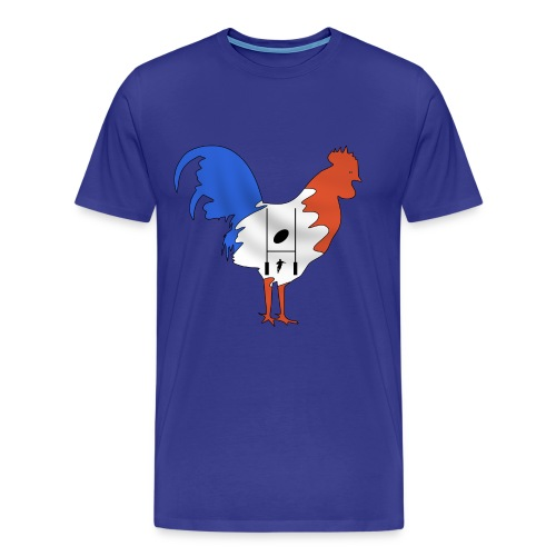 t-shirt rugby coq france - T-shirt Premium Homme