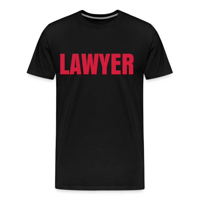 LAWYER Red Logo T